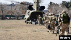 آرشیف، شماری از نیروهای ناتو در افغانستان