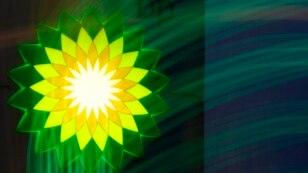 Лого компании BP