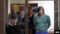 Подсудимые в зале Мосгорсуда