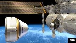 Вот так космическое такси Boeing будет пристыковываться к МКС