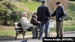 Pensionerlər.