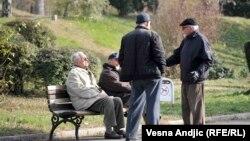 Penzioneri, Beograd