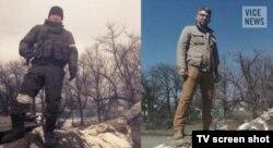 """Кадр из фильма Саймона Островского """"Селфи-солдаты"""""""