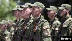 Югоосетинские военные (архив)