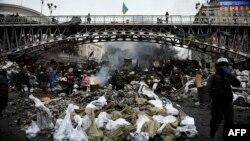 Во время протестов в Киеве. 20 февраля 2014 года.