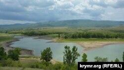 Верховье Белогорского водохранилища, май 2018 года