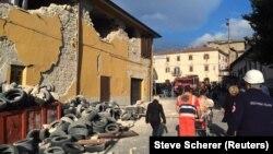 Prizor posle zemljotresa