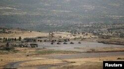 نیروهای نظامی ترکیه در نزدیکی دهوک (عکس آرشیو)