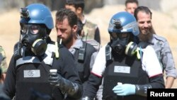 BMT müfəttişləri Suriyada kimyəvi silahın işlənib-işlənmədiyini araşdırırlar, 28 avqust 2013