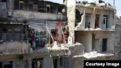 «Վերժին Կյուլպենկյան» ծերանոցի շենքը հրթիռակոծումից հետո