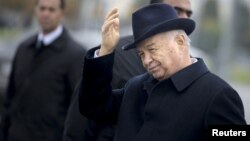Presidenti i Uzbekistanit, Islam Karimov.