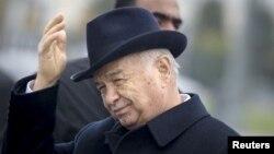 Ислом Каримов дар Самарқанд. Ноябри соли 2015