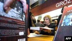 """На прэзэнтацыі кнігі """"Нашы"""" ў Вільні, 17 лютага 2016"""