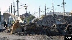 Так выглядят баррикады в Косове