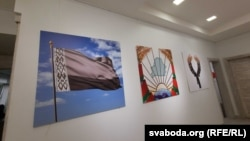 Выставка белорусского художника Владимира Цеслера в Киеве, сентябрь 2020 г.