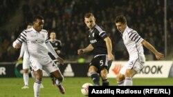 «Qarabağ»-PAOK oyunu fotolarda