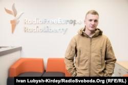Андрій Верхогляд в Українській редакції Радіо Свобода. Київ, жовтень 2018 року