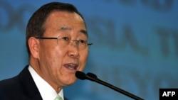 Sekretari i përgjithshëm i Kombeve të Bashkuara, Ban Ki-mun.