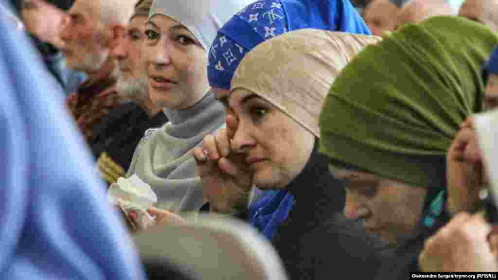 Во время выступления Ибрагимовой присутствующие едва сдерживали слезы