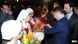 Средба на премиерот Никола Груевски со македонските иселеници во Торонто.