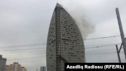 Пожежа в недобудованому хмарочосі в Баку, Азербайджан, 28 квітня 2018 року