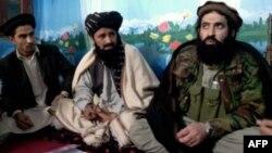 """Представители пакистанской ветви """"Талибана"""". 21 февраля 2014 года."""