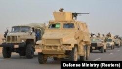 Ushtria egjiptiane në operacionin e saj që ka cak militantët islamikë, foto nga arkivi