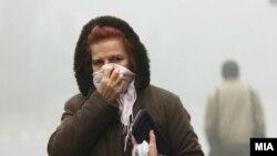 Архива: Виско ниво на аерозагадување во Скопје.
