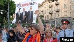 Ermənistan müxalifəti aksiyasında seçki zamanı baş vermiş pozuntularını təqdim edəcək