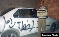 خودروی وکیل علی مطهری