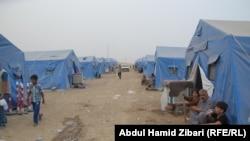 مخيم اربيل للنازحين من الموصل