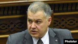 Министр-руководитель аппарата правительства Армении. Давид Арутюнян (архив)