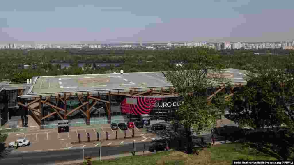 КВЦ «Парковий». Euro Club – це одна з офіційних локацій пісенного конкурсу