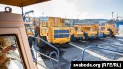 Вытворца буйной кар'ернай тэхнікі «БелАЗ» цяпер таксама пад эўрапейскімі санкцыямі