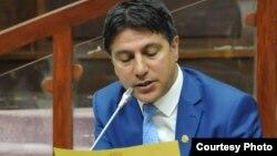 عبدالقادر ځاځی وطندوست منشی ولسی جرگه افغانستان
