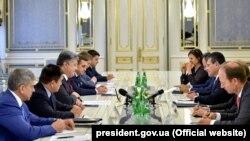 Зустріч віце-президента Єврокомісії Мароша Шефчовича з українськими високопосадовцями. Київ, 2 вересня 2016 року