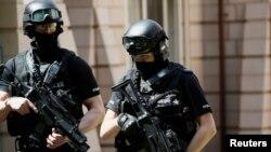 Спецподразделение полиции Великобритании. Фото иллюстративное