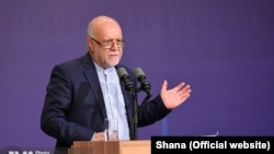 Bijan Zanganeh, Iran's oil minister. File photo