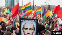 Гей-парад в Амстердаме в апреле 2013 года