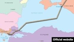 Geografski prikaz Turskog toka