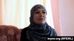 Мер'єм Куку, дружина заарештованого кримського правозахисника Еміра-Усеїна Куку