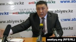 Журналист Тоқберген Әбиев.