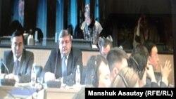 Скриншот видеотрансляции из Женевы, где заслушивался отчет Казахстана в Комитете ООН против пыток.