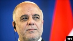 "Iraqi Prime Minister Haidar al-Abadi says he respected the current constitution implemented in 2005, but believes ""it is incomplete."""