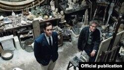 """Geoffrey Rush în rolul lui Alberto Giacometti din filmul """"Ultimul portret"""" regizat de Stanley Tucci."""