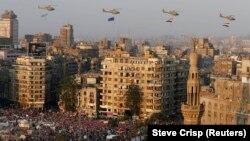 Sa protesta u Kairu 2013.