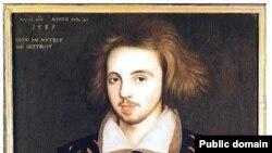 İngilis şair və dramaturq Christopher Marlowe.