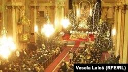 Badnje veče u Velikoj katedrali u Subotici