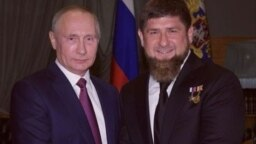 Владимир Путин и Рамзан Кадыров, фото из архива