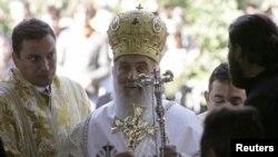 Ceremonia e inaugurimit të patriarkut Irinej në Patrikanën e Pejës.